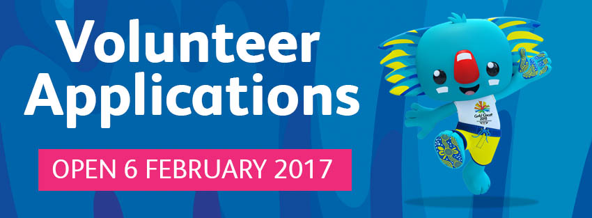 2018 Commonwealth Games - Volunteer Opportunities