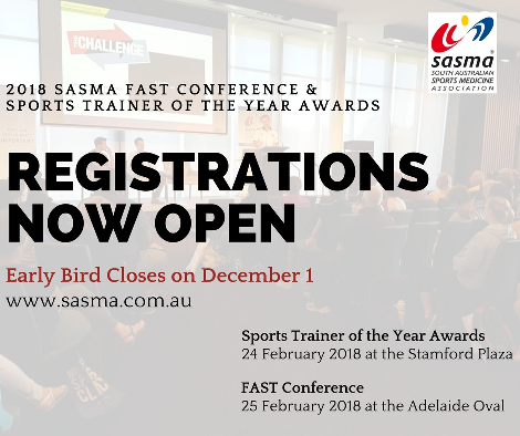 Registrations Now Open!